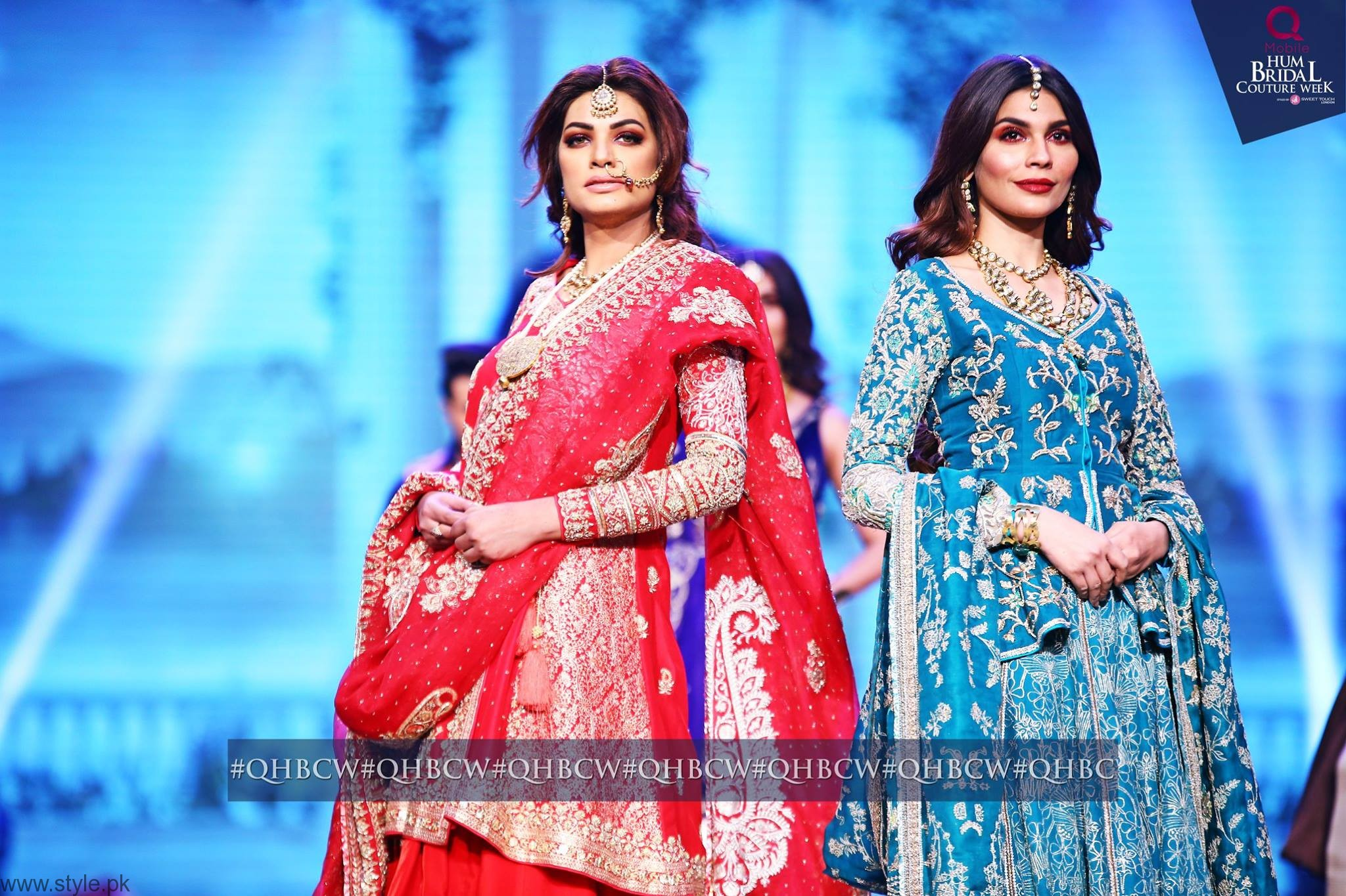 Amna babar - Bridal Couture Week 2016 Day 3