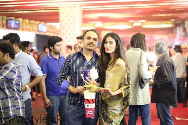 Anusheh Asad at Lahore Se Aagey premiere