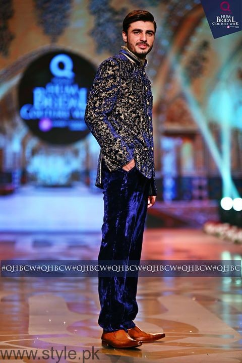 Arshad Khan Showstopper at grand finale of 13th Edition of QMobile HUM Bridal Couture Week Lahore