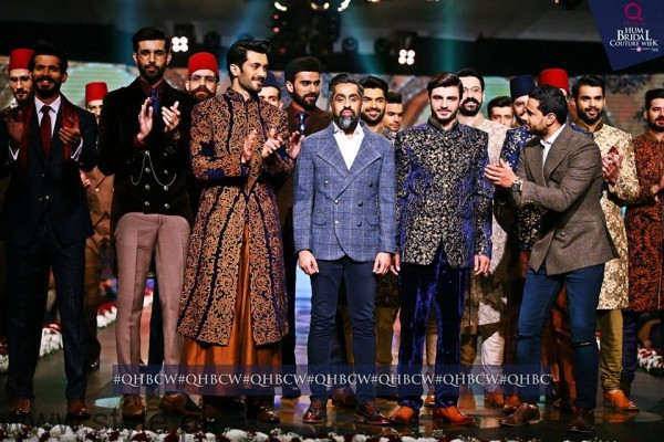 Arshad Khan Showstopper for Ziggi Menswear along with other models