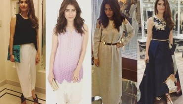 See At times Syra Yousuf gave us Wardrobe Goals