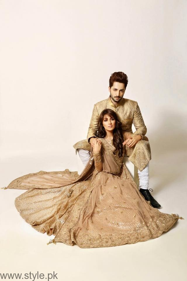 Ayeza Khan And Danish Taimoor - FHM Shoot