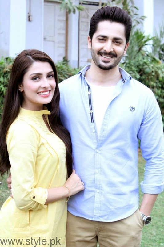 Ayeza Khan Danish Taimoor Age Difference