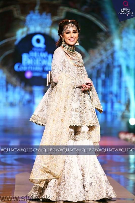 Bridal Couture Week Mehndi Dresses : Best bridal dresses at couture week