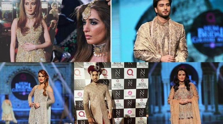 Bridal Couture Week 2016 Day 1- Celebrities