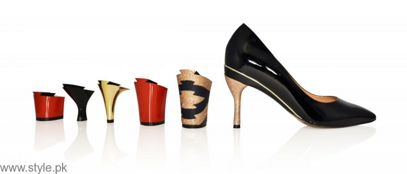 Women Shoes Removable Heel