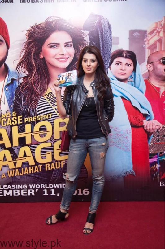 Fariha Ali atLahore Se Aagey premiere