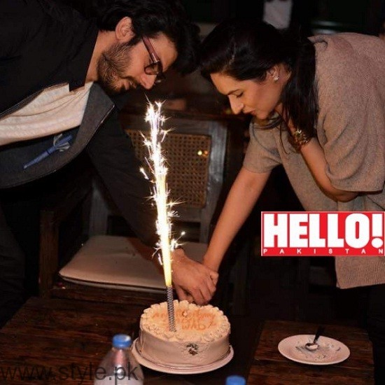 Fawad Khan and Sadaf Khan Wedding Anniversary 2016