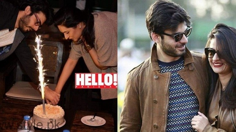 Fawad Khan and Sadaf Khan Wedding Anniversary