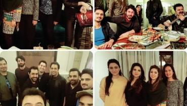 SeeFawad Khan's Birthday Celebration Pictures