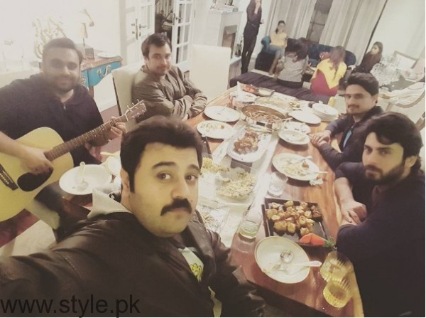 Fawad Khan's Birthday Celebration Pictures (4)