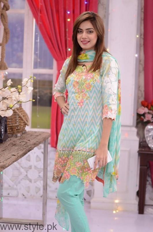 Furqan Qureshi with his Wife Sabrina in Good Morning Pakistan (7)
