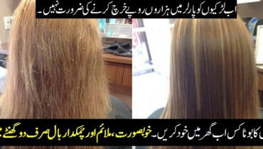 Hair Botox Treament At Home