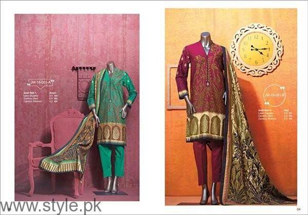 Junaid Jamshed Winter Dresses 2016-2017 For Women