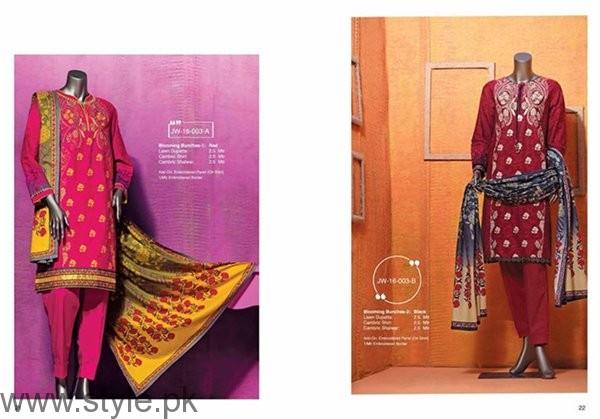 Junaid Jamshed Winter Dresses 2016-2017 For Women005