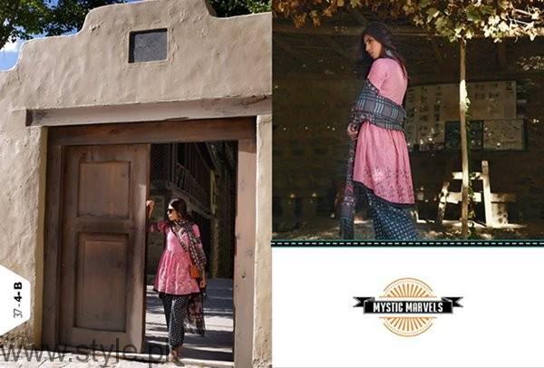 LSM Fabrics Winter Dresses 2016-2017 For Women001