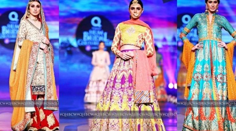Mehndi Clothes For Brides : Mehndi dresses at bridal couture week