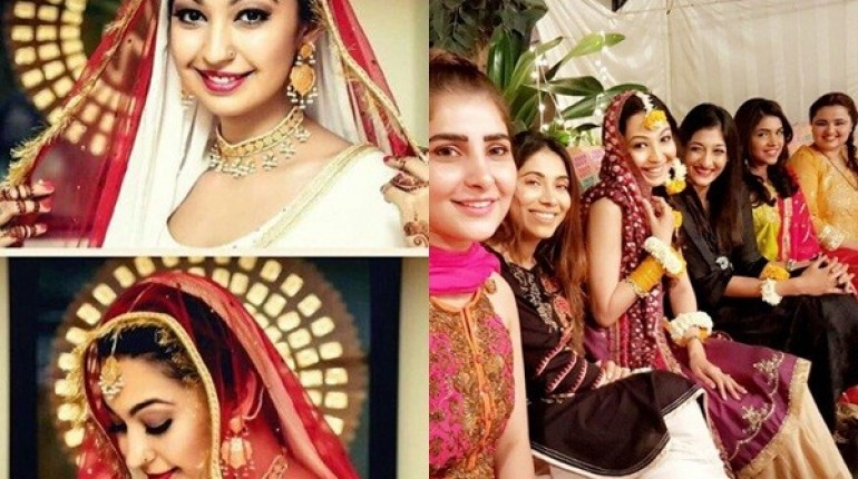 See Model Rubya Chaudhry's wedding Pictures
