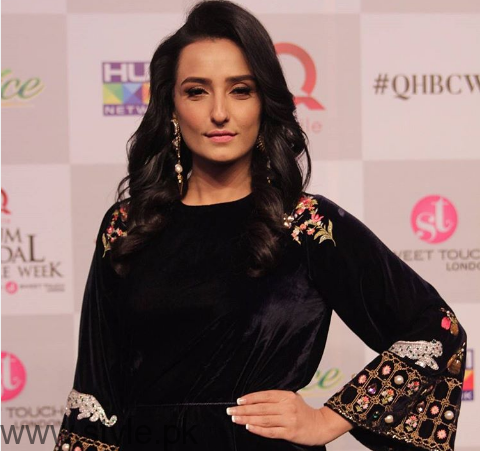 Momal Sheikh - Bridal Couture Week 2016 backstage