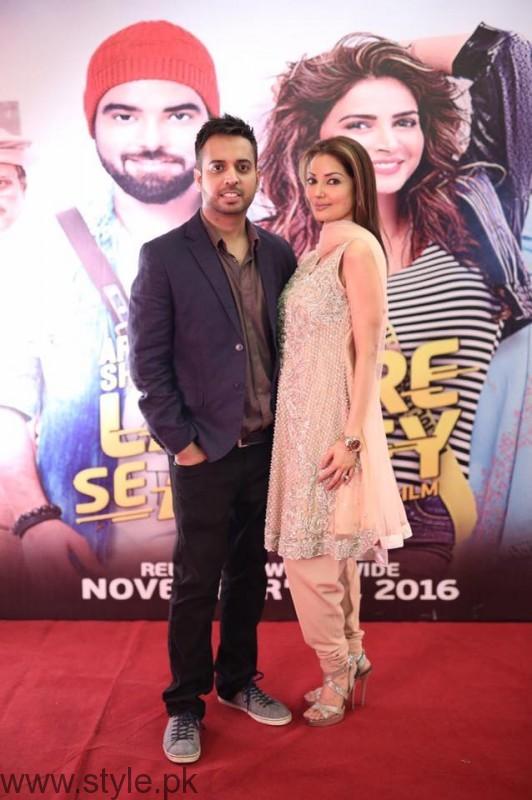 Natasha at Lahore Se Aagey premiere