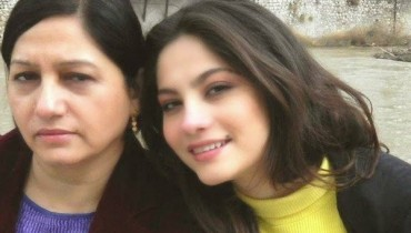 See Neelum Muneer with her family