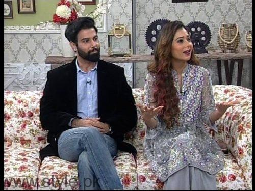 See Noor Hassan and Indian Actress Sara Khan in Good Morning Pakistan