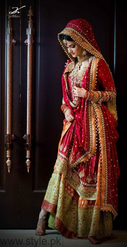 Pakistani Bridal Dresses Design 2017