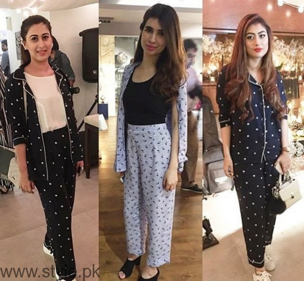 Pakistani Celebrities at Pajama Party (5)