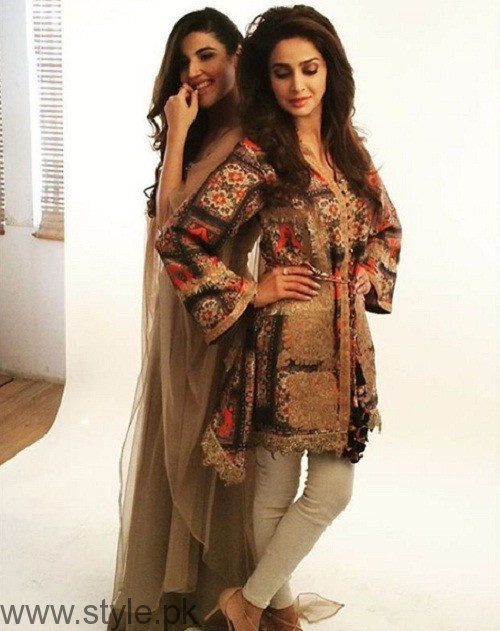 Saba Qamar and Hareem Farooq Photoshoot