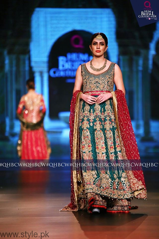 Sadia Faisal - Bridal Couture Week 2016 Day 1