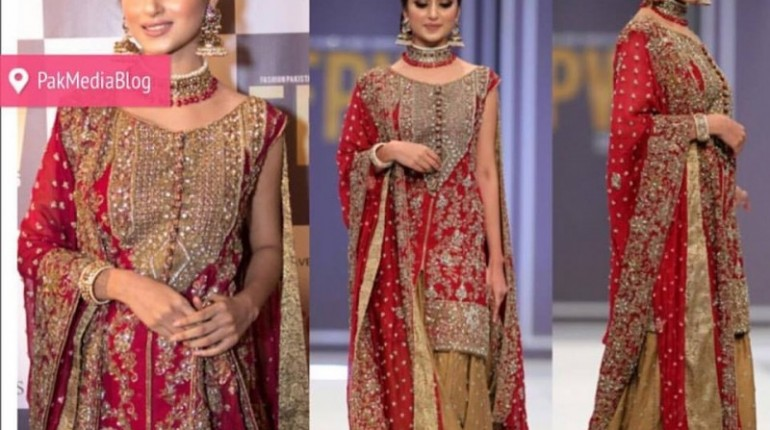 Sajal Ali as Show stopper