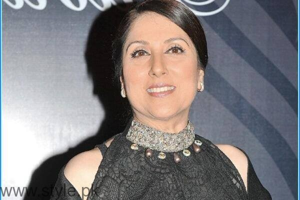 Samina Peerzada - Evergreen PAkistani Actress