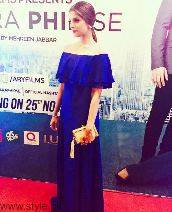 Sanam Saeed At Dobara Phir Se Karachi Premiere