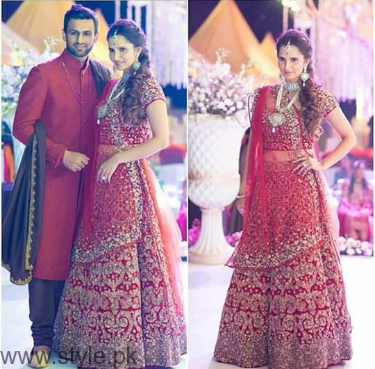 Sania Mirza S Sister Anam Wedding Pictures 2