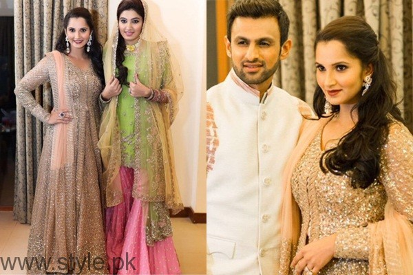 See Sania Mirza's sister Anam Mirza's Sangeet Pictures