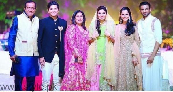 Sania Mirza's sister Anam Mirza's Sangeet Pictures (2)
