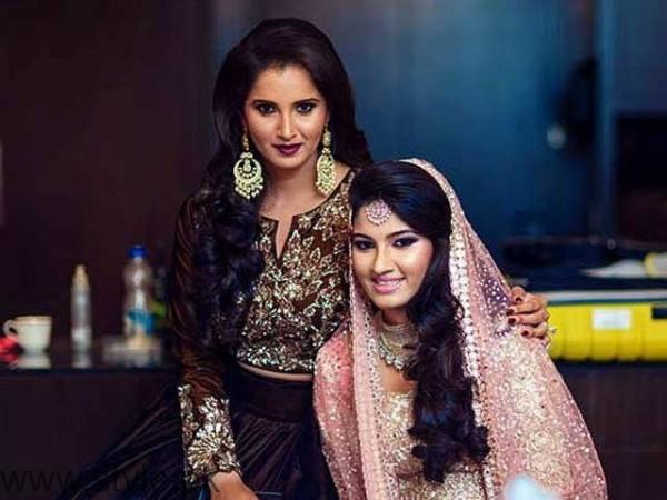 Sania Mirza's sister Anam Mirza's Sangeet Pictures (3)