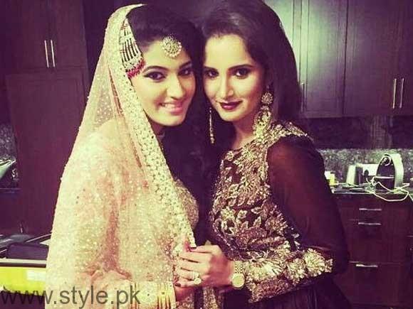 Sania Mirza's sister Anam Mirza's Sangeet Pictures (4)