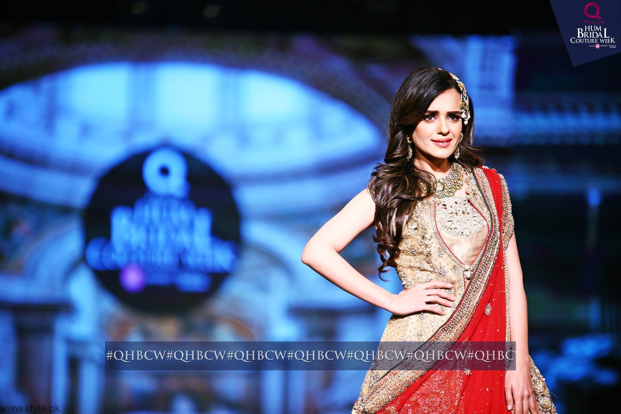 Sumbul iqbal - Bridal Couture Week 2016 Day 3