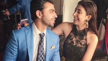 See Urwa Hocane got Officially Engaged to Farhan Saeed