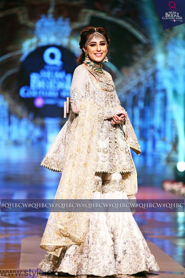 Ushna Shah - Bridal Couture Week 2016 Day 3
