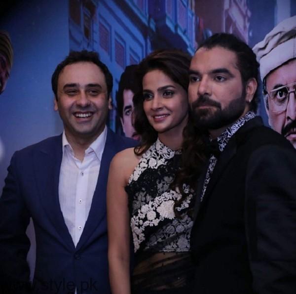 Wajahat Rauf Saba Qamar At Lahore Se Aagey Premiere Karachi