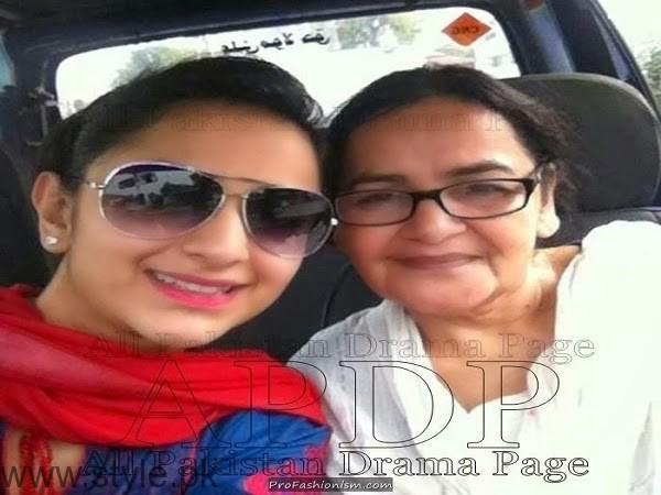 Yumna Zaidi Mother