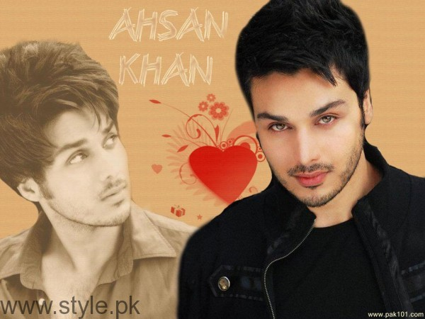 Ahsan Khan Old Photo