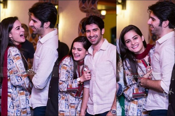 Aiman Khan and Muneeb Butt Pictures