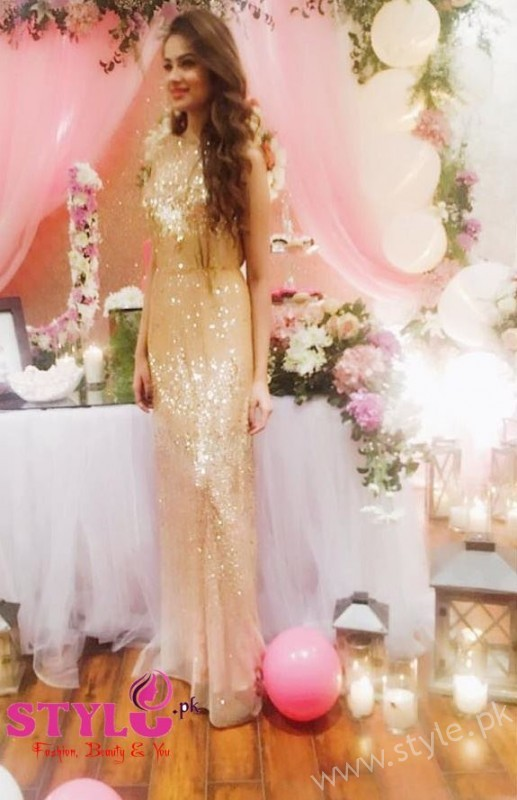 Alyzeh Gabol at Bridal shower Of Urwa Hocane