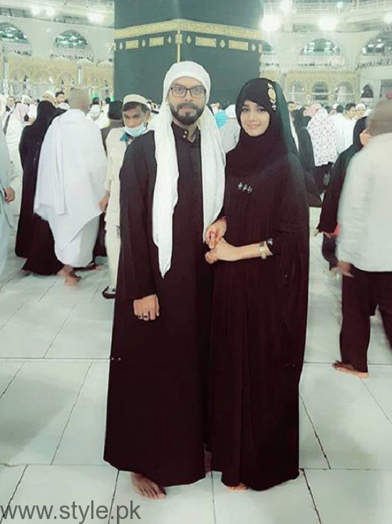 Anum Fayaz Performing Umrah With Husband After Nikah