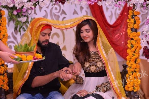 Anum Fayyaz With Husband In Good Morning Pakistan