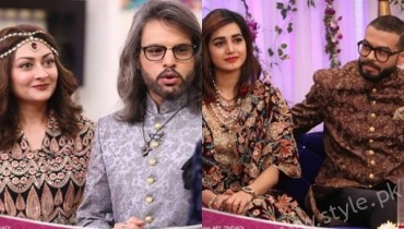 See Anum Fayyaz and Jana Malik with their Husbands in Salam Zindagi