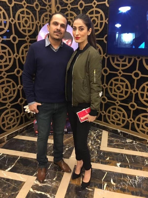 Anusheh Asad at the premiere of Saya E Khuda E Zuljalal